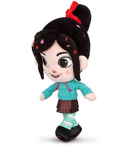 Disney Store Wreck-it-Ralph Vanellope Von Schweetz Plush Doll 12'