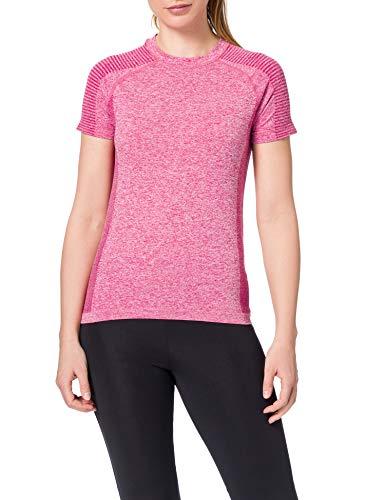 AURIQUE ST0073 Camiseta de Deporte, Rosa (Vivacious), 16