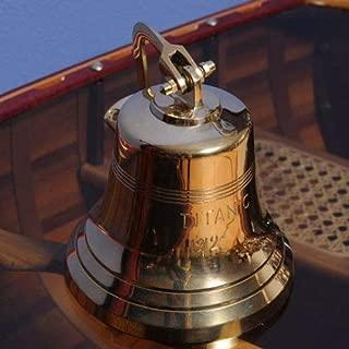 Old Modern Handicrafts Titanic Ship Bell, 6-Inch