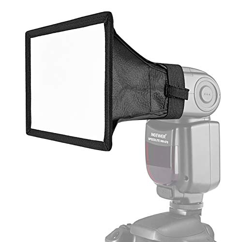 Neewer 3-Size Speedlite Flash Diffuser Light Softbox - 6x5 inches, 8x6 inches, 12x8 inches for Canon, Nikon, Neewer, Youngnuo and Other on-Camera or Off-Camera Flash with Carrying Case