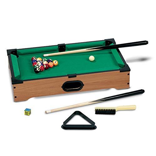 Grandi Giochi- Biliardo da Tavolo, Multicolore, GG95010