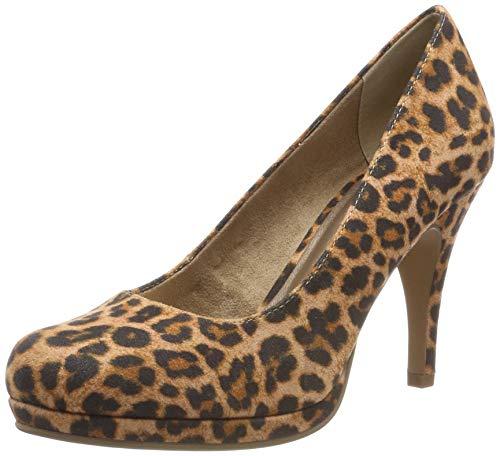 Tamaris Damen 1-1-22467-32 273 Pumps, Braun (Leopard 273), 40 EU