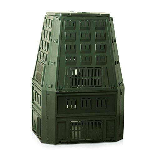 Prosperplast 19552 Kompostierer IKST800Z 800Liter, grün