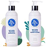 Product 1: DETOX YOUR HAIR - Typical rich-lathering shampoos rob your hair of their protein and leave a layer of chemicals causing dandruff and hair fall! With the first use of TheMomsCo shampoo, you're well on your way for your first hair detox, and...