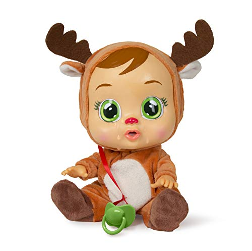 Cry Babies Ruthy The Reindeer Doll, Multi-Colour