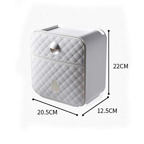 Waterdichte toiletpapierhouder Plastic tissuebox Lades Wandmontage WC-rolpapierhouder CaseTube Opbergdoos Badkamergereedschap