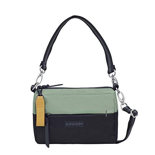 Sherpani Skye, Mini Crossbody Purse, Fashion Handbag, Small Shoulder Bag, Nylon Crossbody Bags for Women, RFID Protection (Jaden)