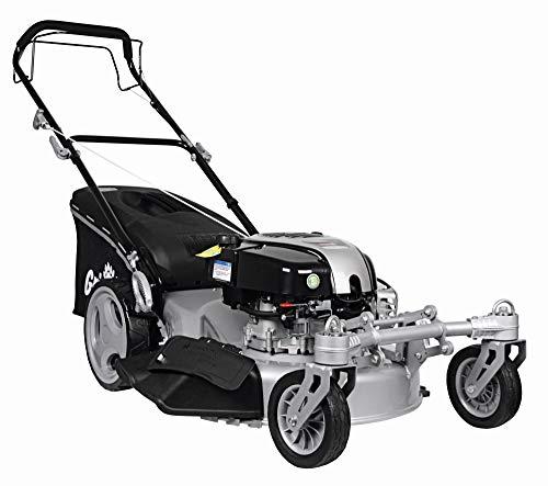 Grizzly Benzin Rasenmäher BRM 56 161 BSA Q 360° Ready Start, Briggs & Stratton Motor, Schnittbreite: 56 cm, Hinterradantrieb, 2,61 kW, 3,55 PS