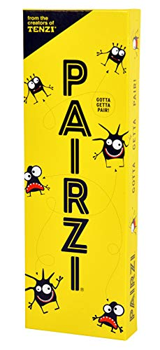 TENZI PAIRZI  The Fast Fun Card Matching Family and Party Game with a Twist  for Ages 6 to 96  2 to 6 Players