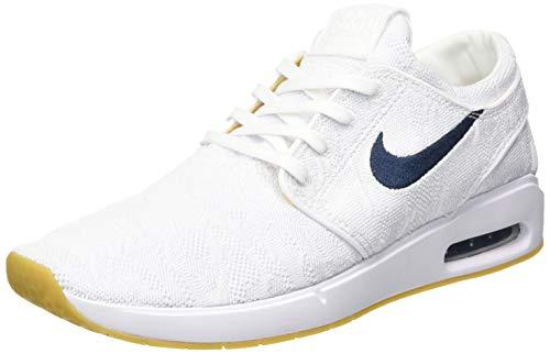 Nike SB Air MAX Janoski 2, Zapatillas de Paseo. Hombre, White Obsidian Celestial Gold, 40 EU