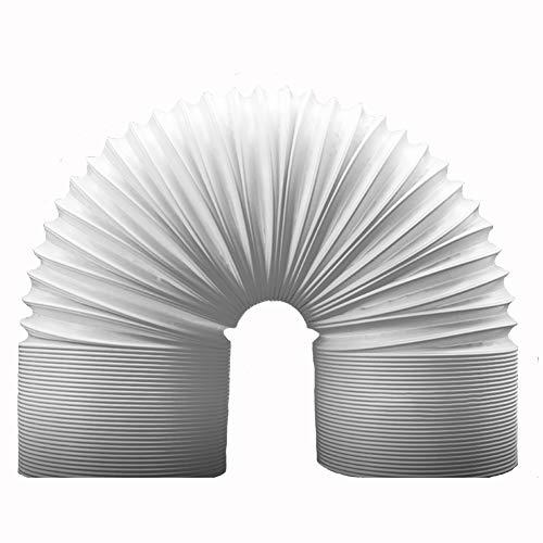 Tubo di scarico del condizionatore d'aria portatile - Diametro aspirazione 13 / 15cm Aspirazione Tubo di ricambio universale CA - Filettatura antioraria Tubo prolungato del condizionatore d'aria