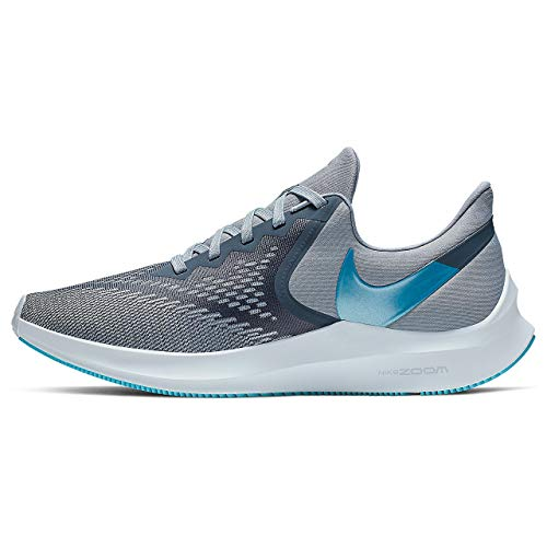 Nike Men's Track & Field Shoes, Multicolour Obsidian Mist Blue Lagoon Half Blue 400, US:6.5