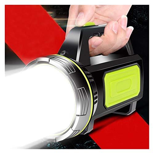 Changskj Suchscheinwerfer 100000lm Leistungsstarke LED-Taschenlampe Handscheinwerfer wiederaufladbare Scheinwerfer 500m Reichweite (Emitting Color : B)