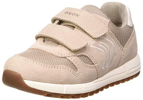 Geox Dziecięce buty typu sneaker B Alben Girl A, beżowy - Beżowy beżowy C5000-24 EU
