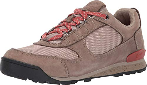 "Danner Women's 37398 Jag Low 3"" Hiking Shoe, Timber Wolf/Hot Sauce - 9.5 M"