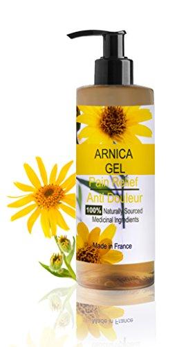 Arnika Gel 90% 500 ml Arnica Montana Gel Schnelle Aktion Kräuter Hilfsmittel 100% natürlich Sport Gel Massage-Gel