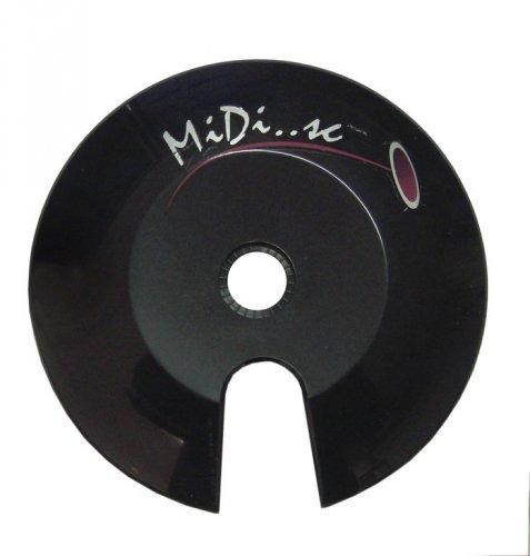 Kettenschutzscheibe Axa Chain Disc Midi 38 - 42 Zähne, für mehrfach-KRG, schwarz (1 Stück)