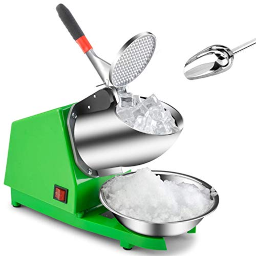 Máquina eléctrica para cortar hielo Ice Crusher, máquina para hacer conos de...