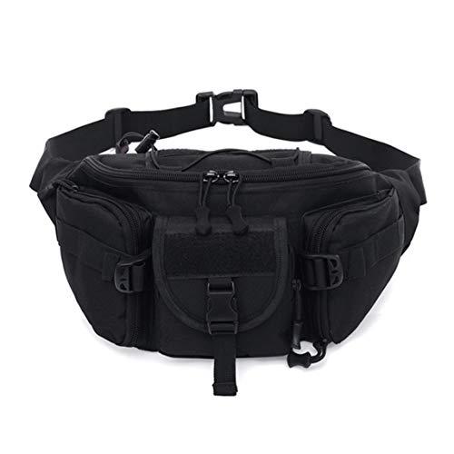 OKAYOU実用的な多機能戦術ウエストパックポーチ用男性女性ミリタリーキャンプハイキングアウトドアバッグ大容量軍ベルトバッグ