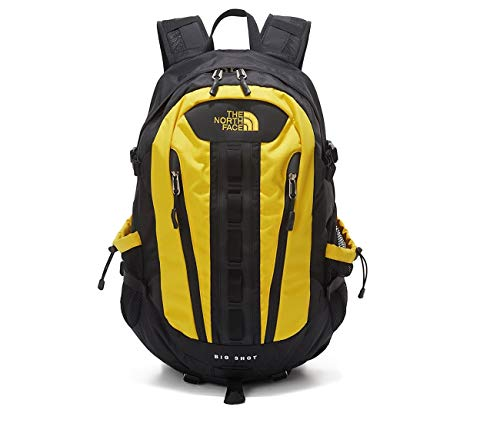 (ノースフェイス) THE NORTH FACE ビッグショットBACK PACK カジュアルバックパックデーバックパックのラップトップバッグ 旅行バック男女バッグ ショルダーバッグミニバッグ (ONE, YELLOW) [並行輸入品]