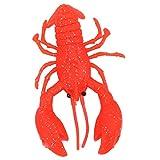 3 colores diferentes, señuelo para curricán de aguas profundas, cebo de simulación, señuelo para cangrejos, cebo, material PVC(red)