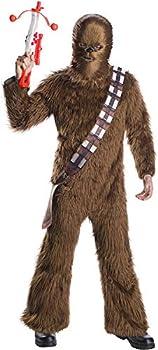 Rubie s Star Wars Classic Adult Deluxe Chewbacca Costume & Mask Standard