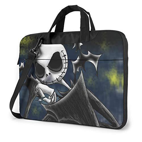 15.6 Inch Laptop Bag Nightmare Before Christmas Laptop Briefcase Shoulder Messenger Bag Case Sleeve