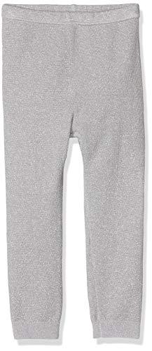 Hatley Leggings, Gris (Silver Glitter 020), 6-12 Mois (Taille Fabricant: 6M-12M) Bébé Fille