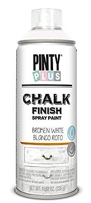 Pintura spray a la tiza PINTYPLUS CHALK 520cc blanco roto CK788