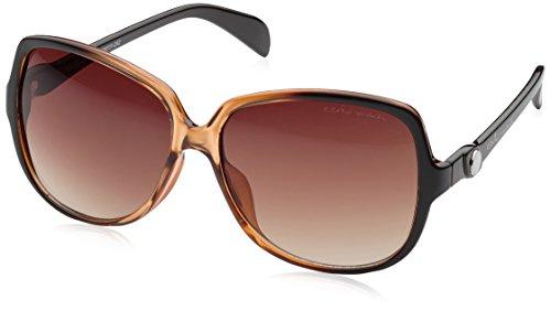 Schöne Marken Sonnenbrille für Damen von Carlo Monti mit 100% UV Schutz   Sonnenbrille mit stabiler Polycarbonatfassung, hochwertigem Brillenetui, Brillenbeutel und 2 Jahren Garantie