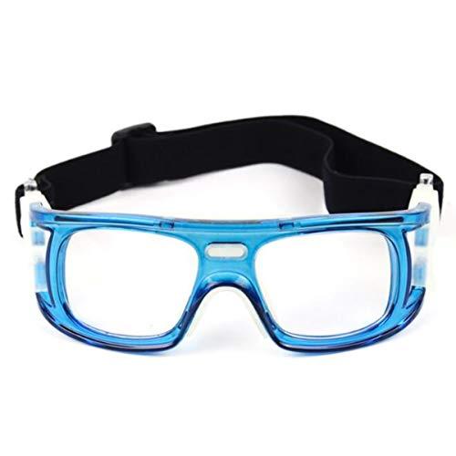 Mipan Gafas de seguridad, baloncesto / fútbol Gafas protectoras Fútbol Deportes Gafas Protector de vidrio para ojos
