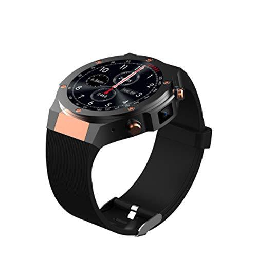 LXZ Neue Im Freien Wasserdichten H2 3G WiFi GPS Intelligenten Uhr, Herzfrequenz Bluetooth 5MP Kamera Quad-Core-1G RAM 16G ROM Mode Sport Smartwatch,A
