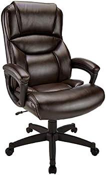 Realspace Fennington Bonded Leather Executive High-Back Chair