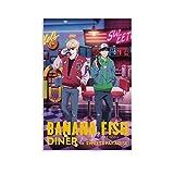 Anime Banana Fish Poster Ash Luchs Okumura Eiji Poster