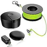 Wiremag Puller Set extractores alambre magnético Alambre pesca del tirón del imán para paredes,Herramientas pesca cable magnético Sistema tracción alambre cinta pescado Para el hogar al aire libre