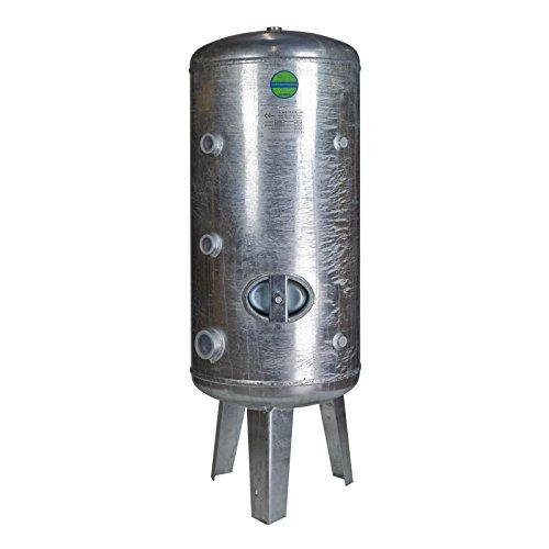 Heider Druckkessel 150 Liter Druckbehälter 150l 6 bar stehend Druckwasserkessel Wasserdruckkessel verzinkt Wasserdruckbehälter Druckausgleichsbehälter