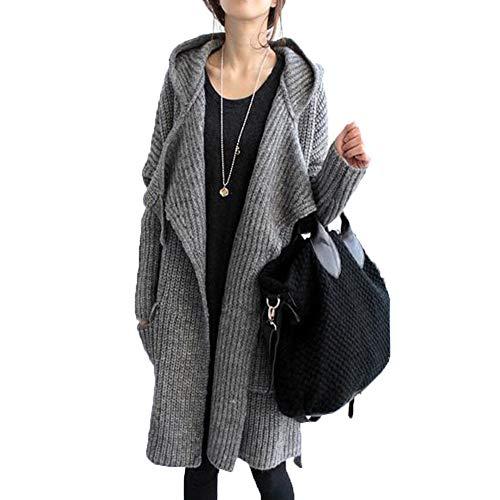 ゆったり カーディガン レディース ニット ロングカーディガン セーター 着やせ 秋冬コート カジュアルセーター前開き アウター 長袖 腰リボン 大きいサイズ 体型カバー 20代 30代40代50代