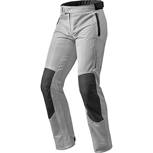 FPT072 - 0173-XL - Rev It Airwave 2 Motorcycle Trousers XL Silver Long