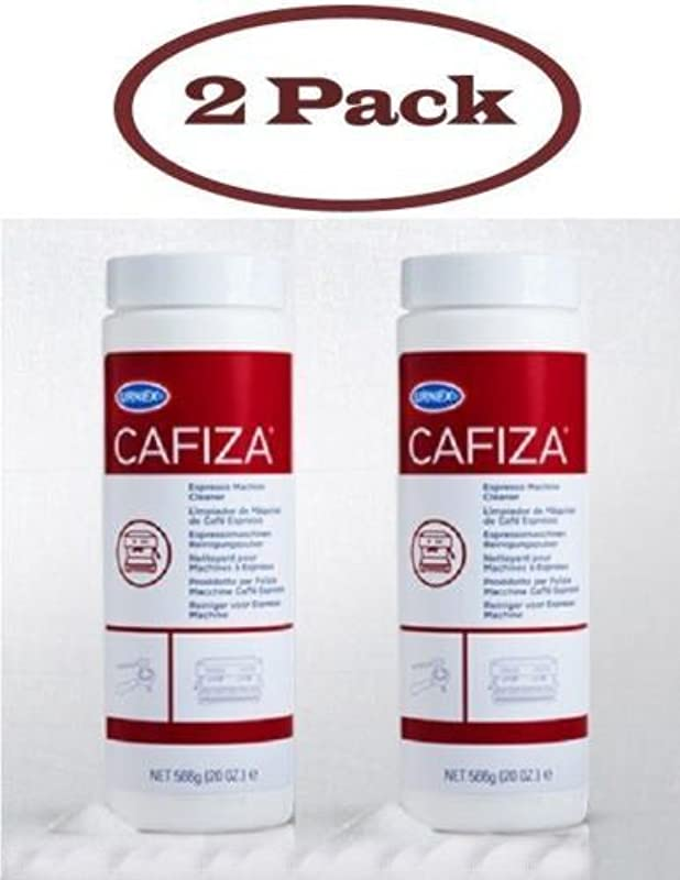 Have One To Sell Sell Now URNEX CAFIZA ESPRESSO COFFEE MACHINE CLEANER POWDER TWO 20 Oz FREE USA SHIP