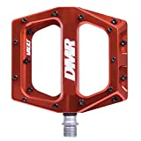 Dmr Vault Pedals - Naranja, 9/16 / Plataforma plana MTB bicicleta de montaña Trail Off Road Pin Dirt Jump Enduro Ciclo Downhill Grip Montar accesorios