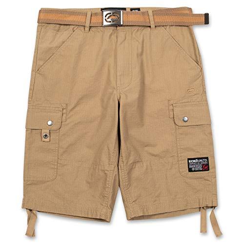 Ecko Unltd. Shorts for Men, Ripstop Cargo Shorts for Men, Big and Tall Shorts w Belt