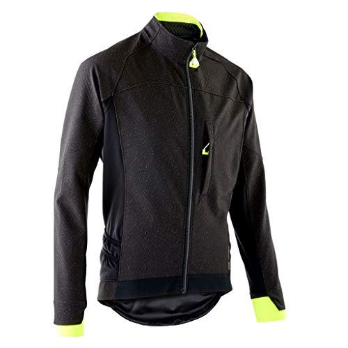 Skianzüge Männer Cycling Bike Jersey Long Sleeve mit Taschen Feuchtigkeitstransport, atmungsaktiv, Rad Fahren Hemd Verschleißfeste Doppelmanschetten Windjacke for Outdoor Sports Schneeanzug