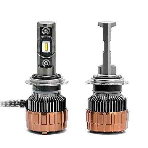 lxxiulirzeu EMC CSP LED 9005 / HB3 9006 / HB4 HB3 9004 9007 H3 6000lm Cariño del Coche Bombillas First Lights Lámpara Blanco 5700K 12V 24V H7 H4 H1 H1 H1 (Socket Type : H4/9003/HB2 Hi/Lo)