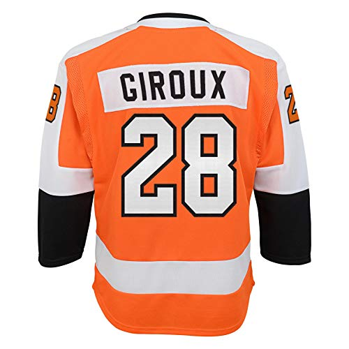 Youth Philadelphia Flyers Claude Giroux Home Premier Player Jersey (Youth L/XL)