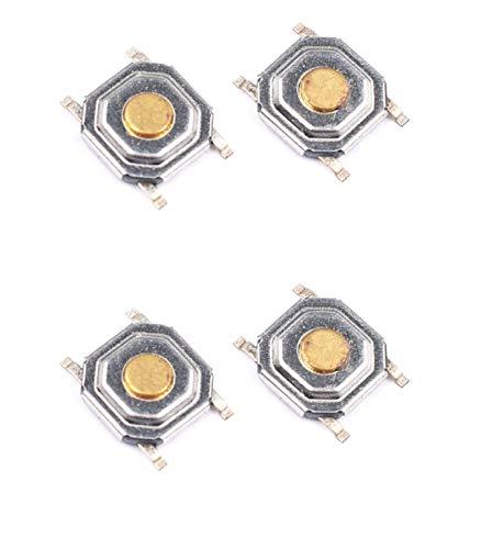 carcasaschulas - Pack 4 Switch Micro-Switch Pulsadores Toyota, Renault, Citroen, Peugot Saab BM Reparar Llave Coche…