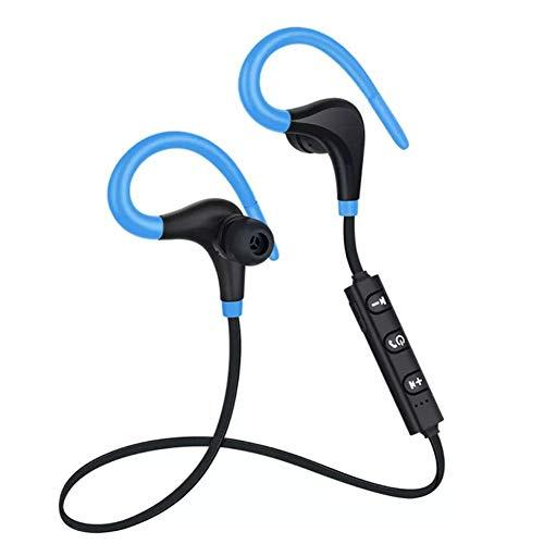 Romote 1 Sport drahtloser Kopfhörer Bluetooth Headset Bluetooth Sheepskin Stereo-Kopfhörer EIN großes Stereo Bluetooth-Kopfhörer-Lautsprecher (blau)