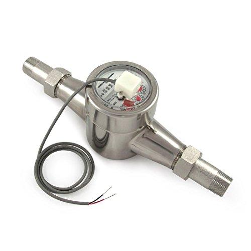 EKM Metering 3/4' Water Meter - Stainless Steel, Pulse Output