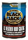 Everbuild Black Jack 905 All Weather Roof Coating with Free Brush and Gloves
