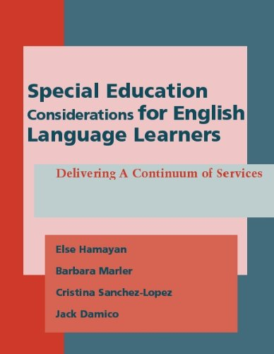 Special Education Considerations for English Language...