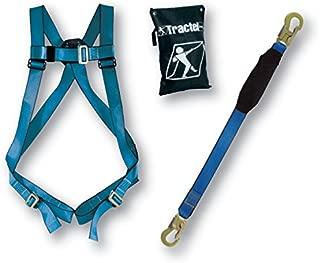Tractel KIT-B41K Phoenix Basic Fall Protection Trac Kit in a Bag, Blue/Black